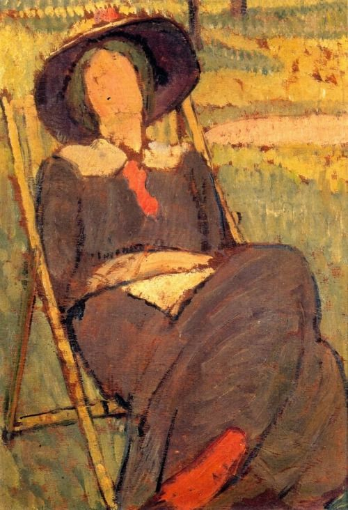 """ Vanessa Bell (1879-1961), Her sister Virginia Woolf """