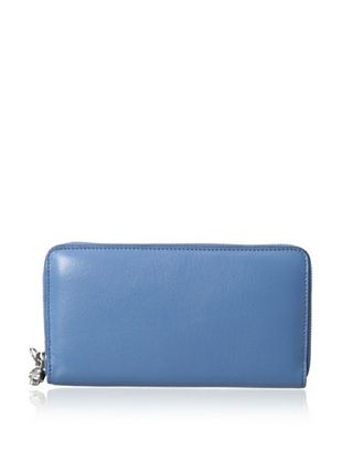 19% OFF ALEXANDER MCQUEEN Women's Continental Zip Wallet, Blue