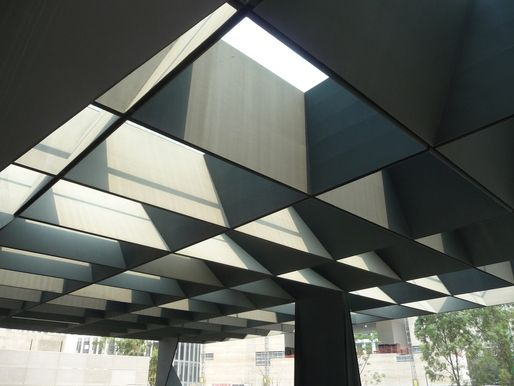 Steel Canopy / New Cultural Architecture in Polanco Mexico City : roof canopy - memphite.com