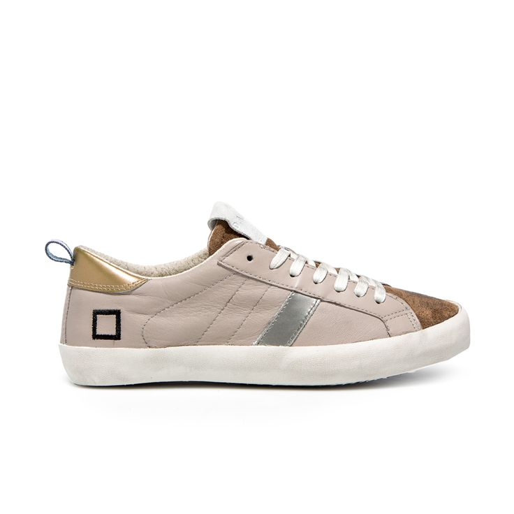 D.A.T.E. Fall Winter 2015-16 // Hill Low Nappa TAUPE. Shop at:http://bit.ly/1IaajL3 #datesneakers