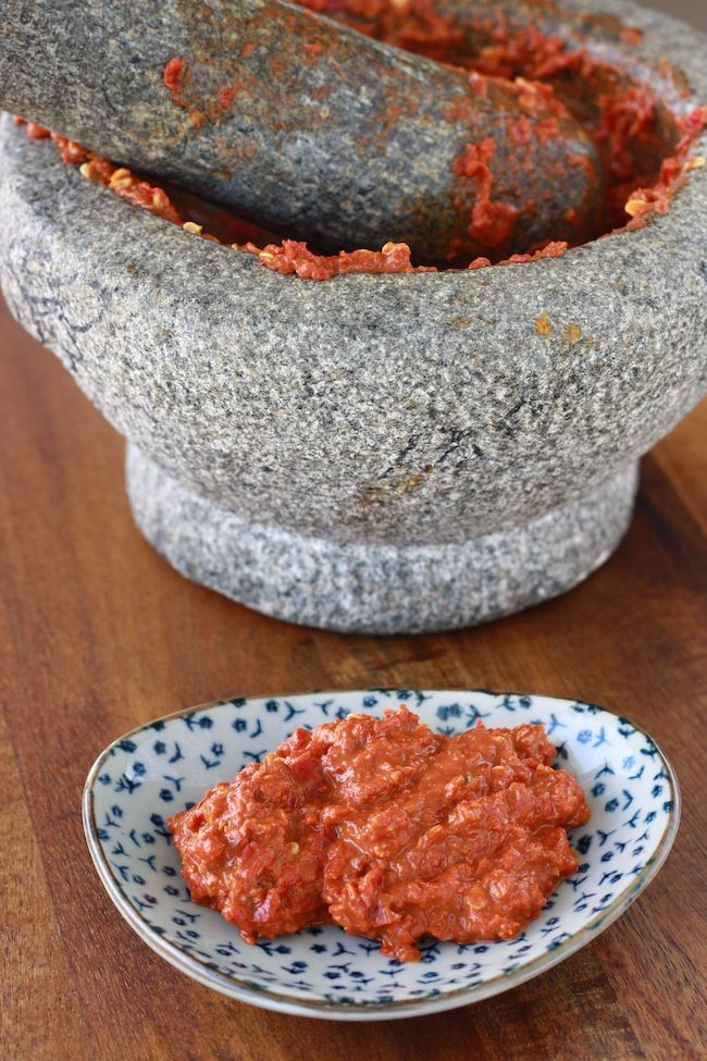 Sambal Belacan recipe by SeasonWithSpice.com