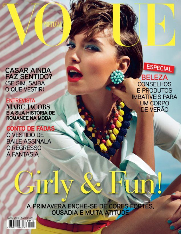 Arizona Muse by Patrick Demarchelier Vogue Portugal May 2012