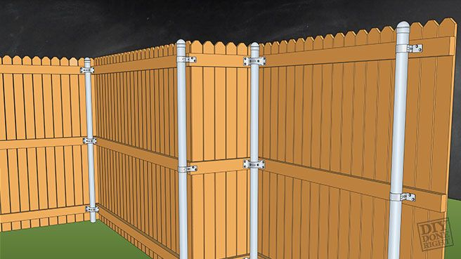 Fencing with Metal Posts | DIY Done Right