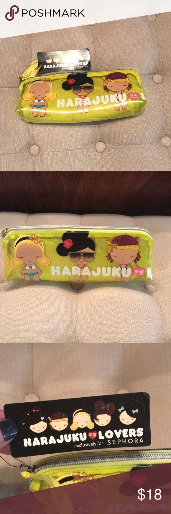 Make Up Bag NWT Hara Juku make up bag. Harajuku Lovers Bags