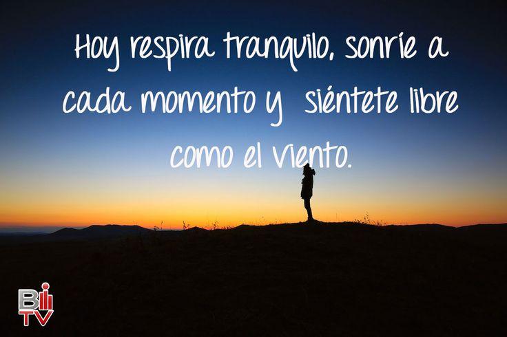 Una frase positiva para empezar el día. #Frase #Vida #Sonríe #Quote #Smile #Life
