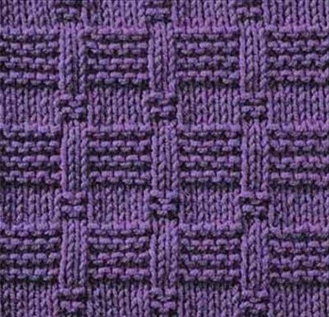 Образцы вязания  на спицах