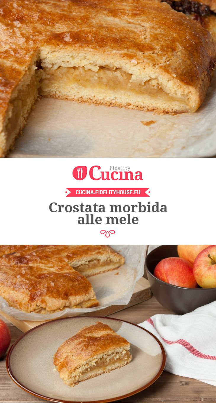 #Crostata morbida alle #mele