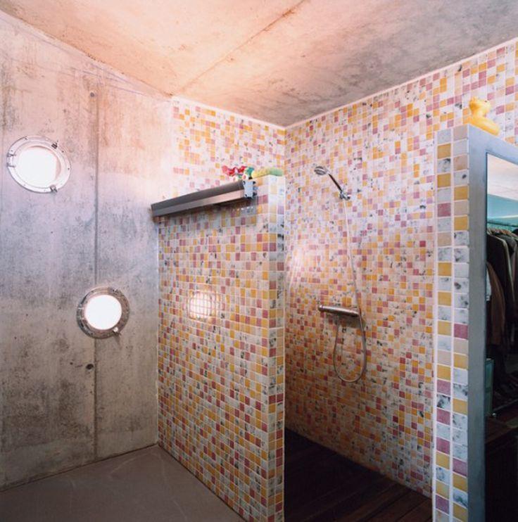 Dusche umgestalten | Kleines Badezimmer über Innenarchitektur umgestalten