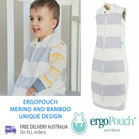 ergoPouch Merino & Bamboo Baby Sleeping Bag 2 TOG