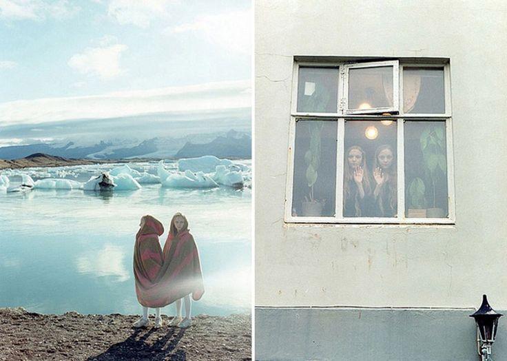 Исландские девочки близнецы, которые видят одинаковые сны