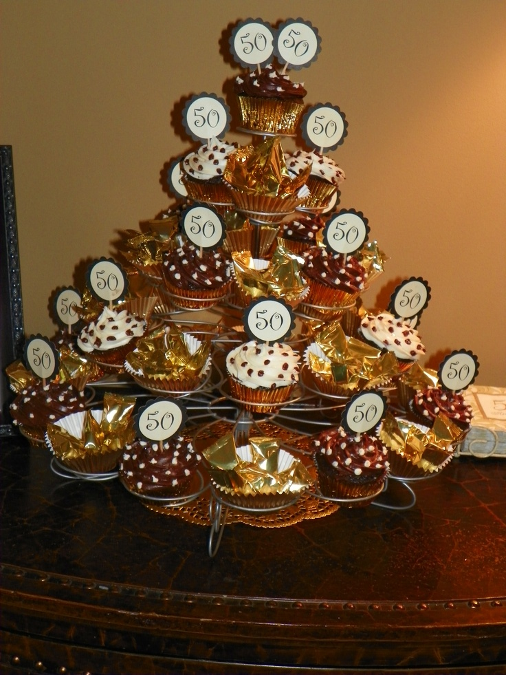 50 Picks I Made For The Cupcakes At 50th Anniversary Party My
