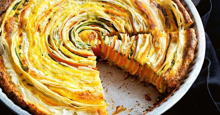 This amazing veggie quiche is packed with zucchinis, carrots and cheese to make a perfect centrepiece for your next dinner party. Best of all - it's low calorie!