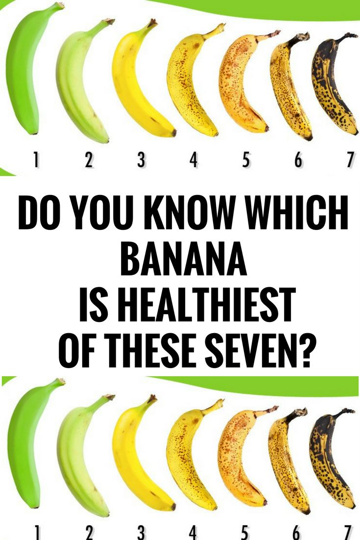 Do You Know Which Banana Is Healthiest of These Seven? *,