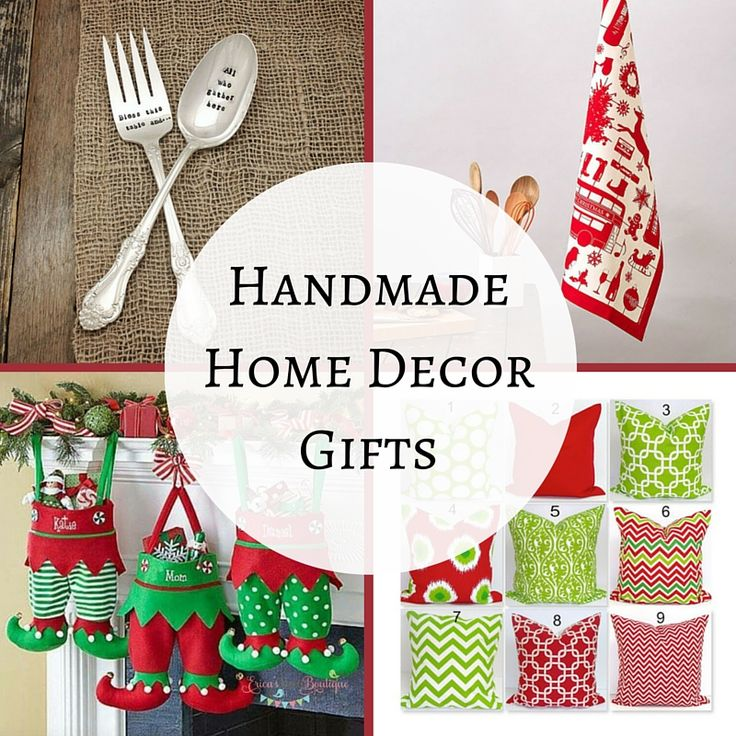 Home Design Gift Ideas: Personalized Handmade Christmas Gift Guide