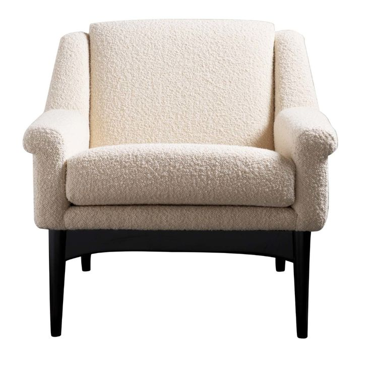 Lulu white small armchair small bedroom armchair small