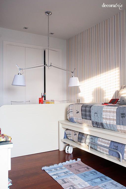Camas nido para habitaciones juveniles chicos pinterest for Habitaciones juveniles 3 camas