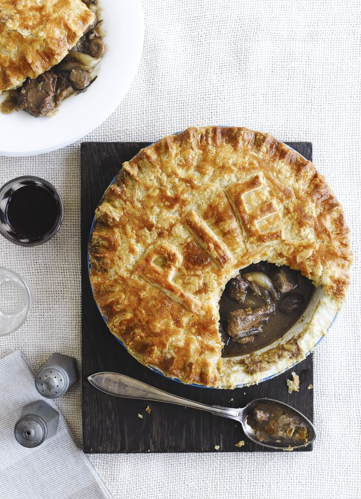 The best family steak pie. Made with a classic suet crust this is peerless in pie terms. With a rich steak and red wine filling this is comfort food at its best.