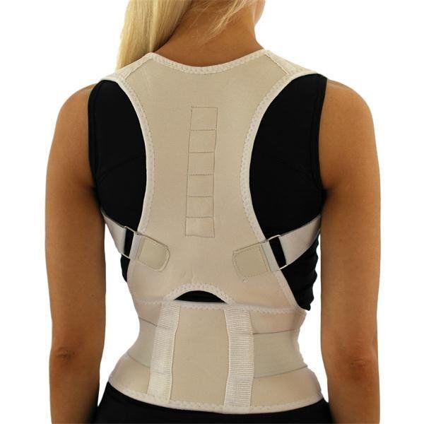 www.gadgetcentrale.net  Support à dos Le Support à dos est utile pour les jeunes et les personnes âgées qui souffrent de bosses. Les personnes qui souffrent de douleurs musculaires au dos et à l'épaule, à l'hernie discale lombaire, à la courbure de la colonne vertébrale, etc., sont également recommandées d'utiliser le Support à dos !
