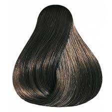 Wella Koleston Perfect 5/0 : light-brown  If your hair is dark: This makes brown hair dye their hair almost the same darkness with your hair.  If your hair is light: It makes your hair medium brown hair dye.