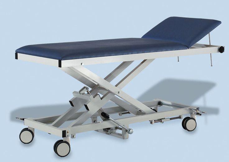 Divan d'examen et de transfert équipe de roulette, mobilier médical AGA
