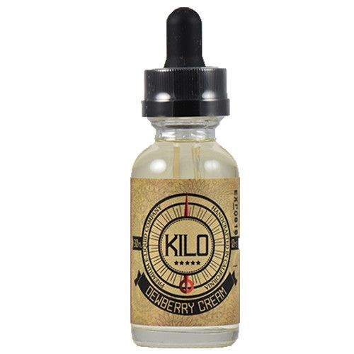 Kilo eLiquids Dewberry Cream - Dewberry cream is an exquisite honeydew cream flavor with light hints of mixed berry that is every bit as delicious as it is smooth. striking the perfect balance between fruity and creamy.70% VG
