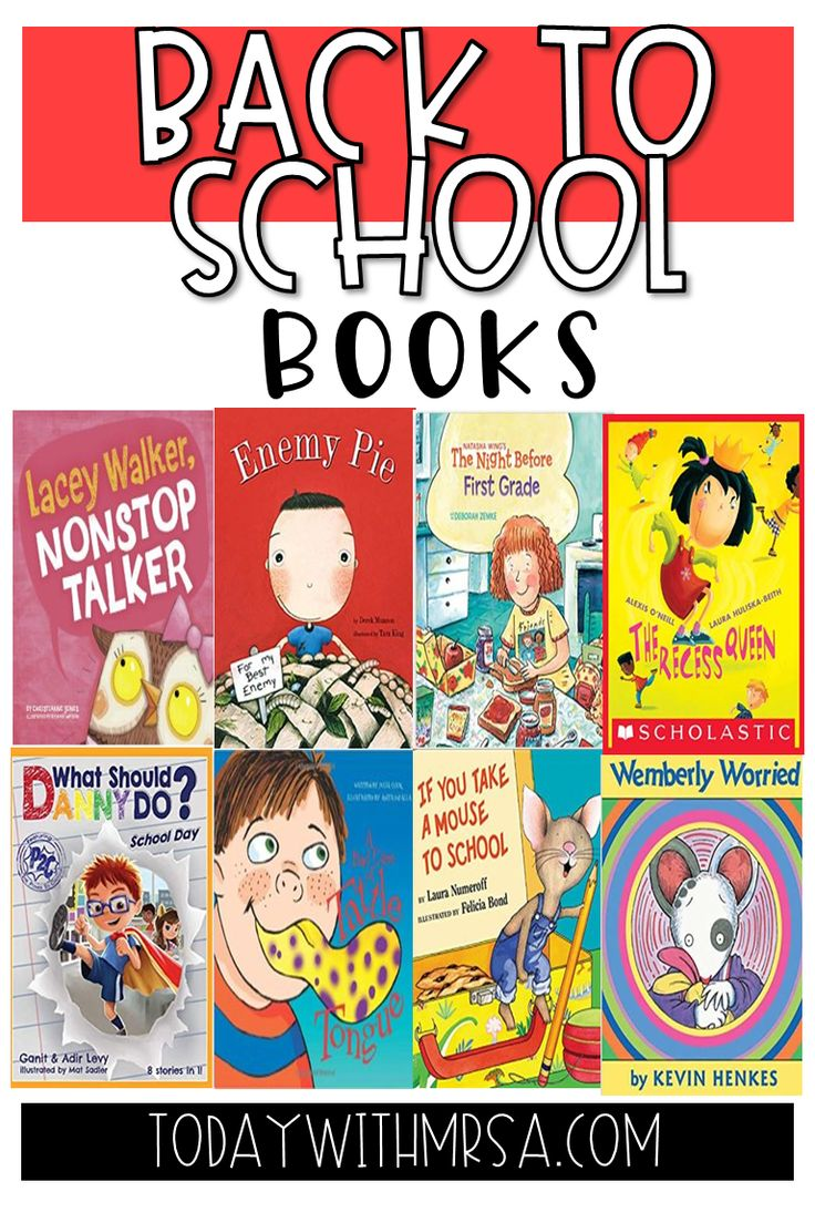Back to school books for second grade elementary