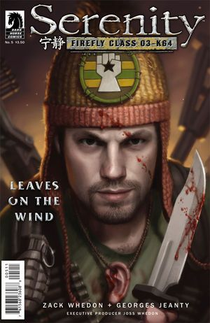Serenity: Leaves on the Wind #5 (Dan Dos Santos cover) :: Profile :: Dark Horse Comics