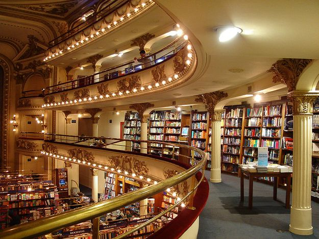16 Bookstores You Have To See Before You Die... I literally gasped when I saw this picture.