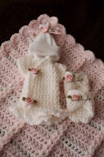 Angel Baby Crochet Outfits