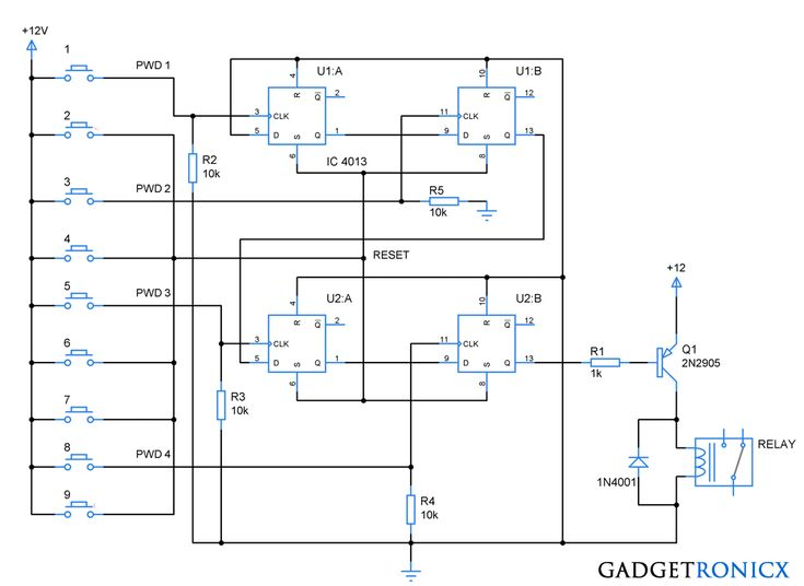 89 best electronic circuits images on pinterest circuits dual d flop pin diagram