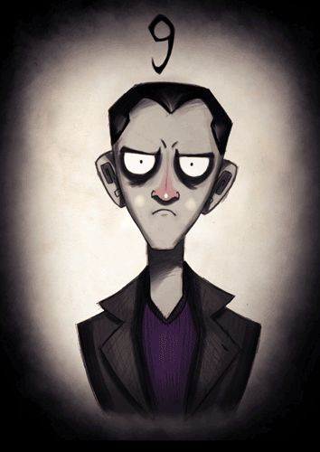 Tim Burton-ized Doctor Who Characters Get Animated [Animated GIFs] #9THDOCTORWHO