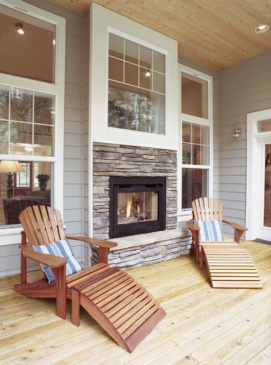 Best 25 Indoor Outdoor Fireplaces Ideas On Pinterest