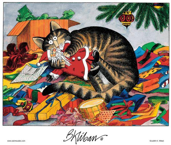 Kliban's Cats Comic Strip, December 25, 2012 on GoComics.com