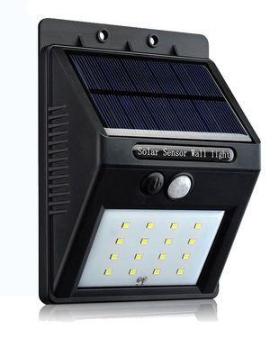 Marvelous  x Au en Solarlampe Bewegungsmelder Solarleuchte Gartenlampe Wandleuchte in Garten u Terrasse Beleuchtung Sonstige