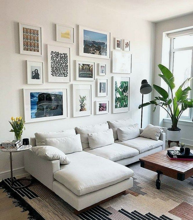 15 Top Living Room Paint Ideas As The Best Decoration 11 With Images Small Living Room Decor Gallery Wall Living Room Living Room White