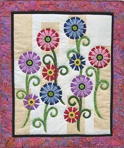 Free Applique Patterns Stitching Cow Flower Amp Garden