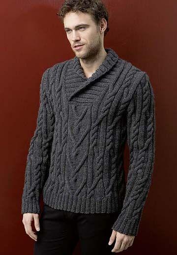 Мужской Пуловер С Воротником Поло