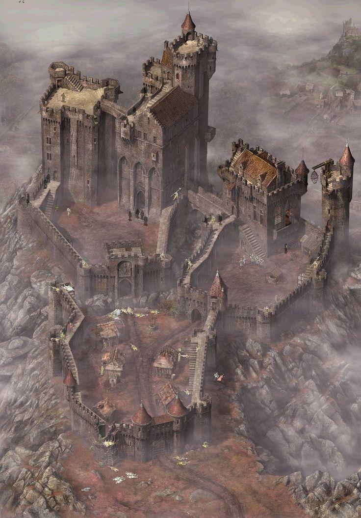 Derby Castle by MedievalJunkie