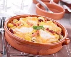 Tartiflette au camembert (facile, rapide) - Une recette CuisineAZ