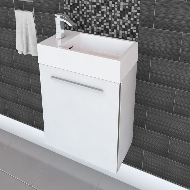 Shop Cutler Kitchen U0026 Bath Cutler Kitchen U0026 Bath BEURO Boutique Wall Hung  Space Saving Vanity At Loweu0027s Canada. Find Our Selection Of Bathroom  Vanities At ...