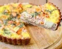 Quiche au saumon frais (facile, rapide) - Une recette CuisineAZ