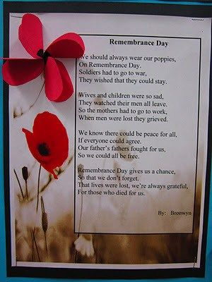 Teacher's Pet – Ideas & Inspiration for Early Years (EYFS), Key Stage 1 (KS1) and Key Stage 2 (KS2) | Remembrance Day Poems