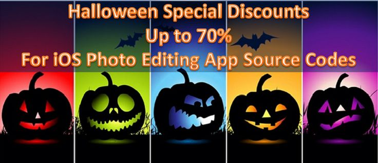 Top #iOS Photo Editing App #SourceCodes with Amazing Discount Offers
