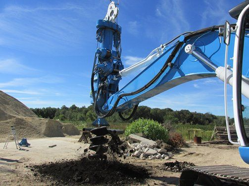 LoDril Series Excavator Attachments for Drilling | Bay Shore Systems