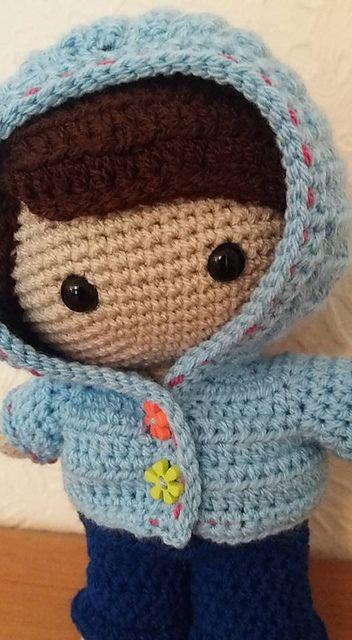689 besten muñecos tejidos Bilder auf Pinterest | Stricken häkeln ...