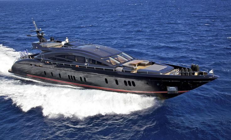 The interior areas of the Azimut 74 charter yacht IRIS inspire luxury, opulence …