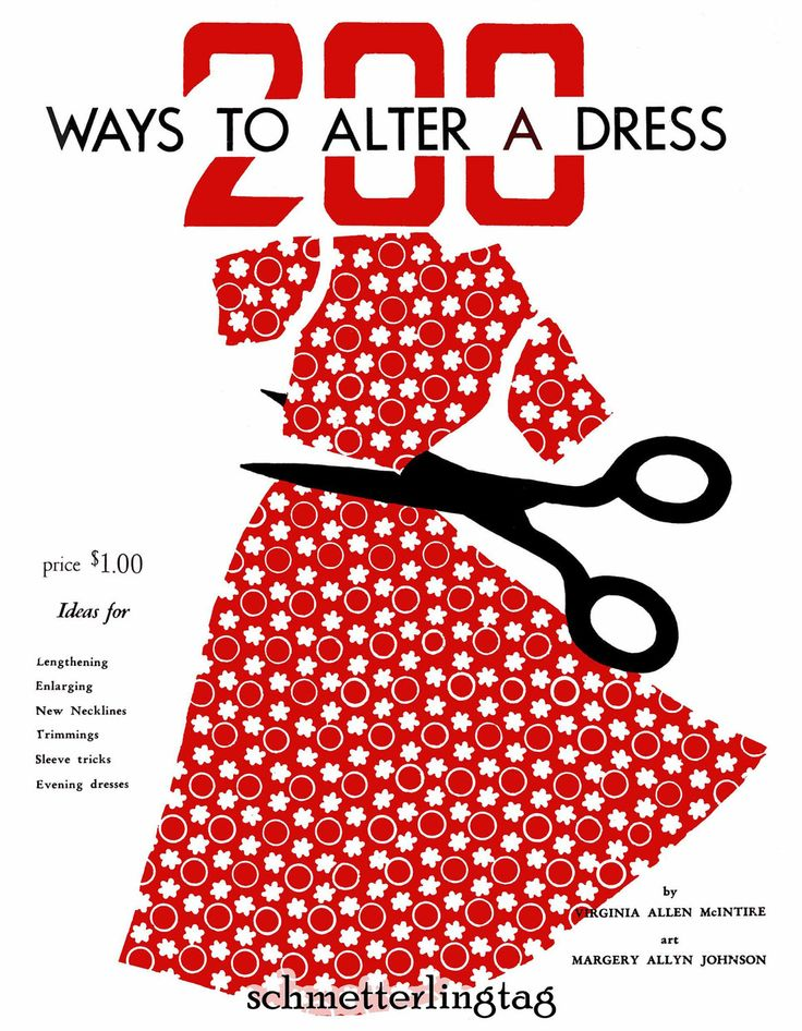 diy vintage clothing ideas | ... Vintage Sewing Guide McIntire Retro Atomic DIY 40s Swing Era Guide