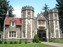 Bard College, founded in 1860 as St. Stephen's College, is a private liberal arts college in Annandale-on-Hudson, a hamlet in Dutchess County, New York, United States, in the town of Red Hook.