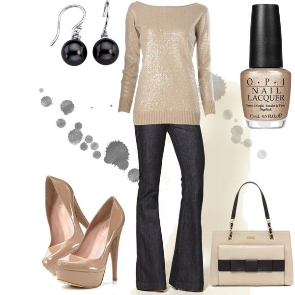 A little glitter...Chic Outfit, Fashion, Style, Clothing, Colors, Girls Night, Nails Polish, Dates Night, New Years