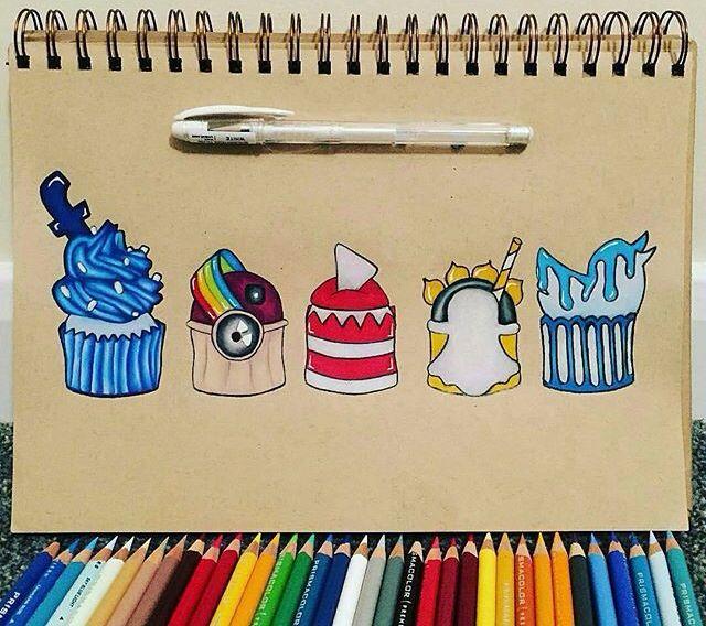 Muffin réseau sociaux